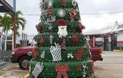 Новогодние креативные елки из подручных материалов
