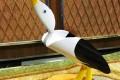 Птицы из пластиковых труб