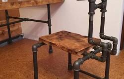 Растущая мебель из труб ПВХ