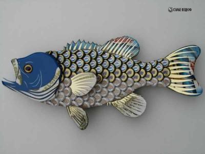 Рыбки из пробок от стеклянных бутылок