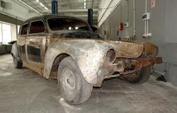 Реставрация старинных автомобилей