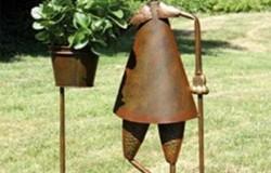 Садовые фигуры из металла