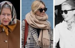Отделка платков и шарфов