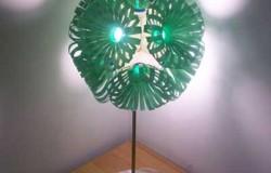Светильники из пластиковых бутылок от Сары Тернер