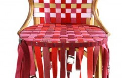 Перетяжка стульев своими руками кожаными ремнями