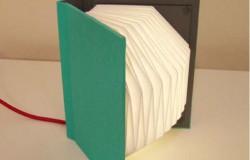 Книга светильник в технике оригами