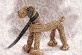 Мягкая игрушка собачка из ниток и проволоки МК