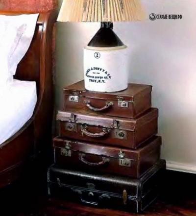 Мебель из чемодана