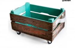 Декор деревянного ящика своими руками