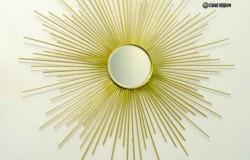 Зеркало-солнце своими руками МК